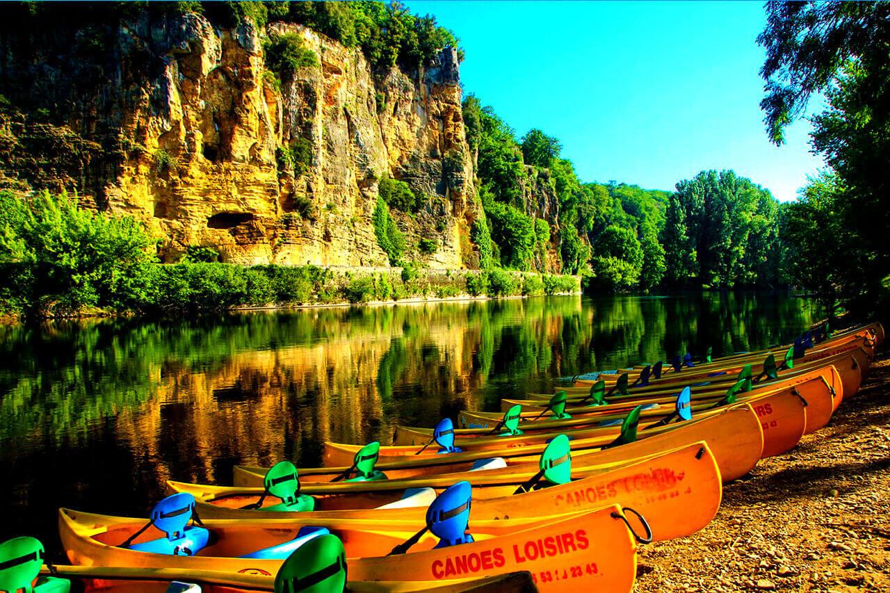 canoes-castelnaud-gabarres-partner-of-castel-bike